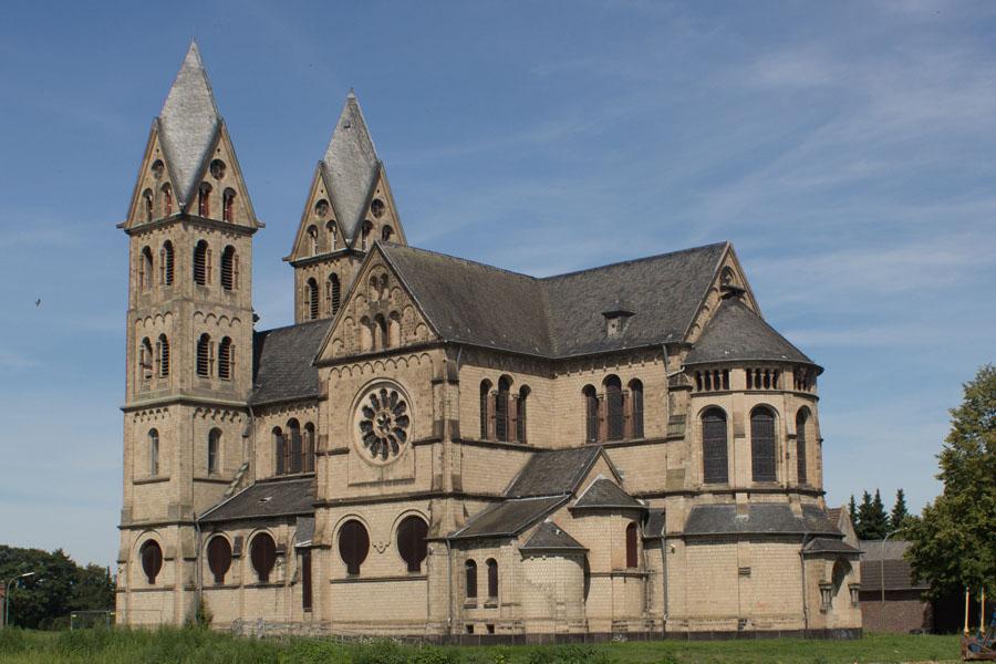 Abriss der Pfarrkirche St. Lambertus in Immerath (Foto: Johan Bakker, Bildnachweis im Artikel)