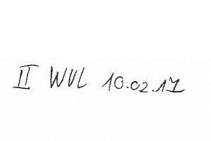 Akte Gerbhaus: Wiedervorlage am 10.2.17