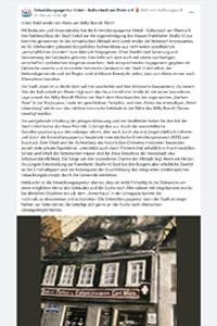 Entwicklungsagentur Unkel: Facebook-Artikel