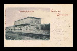 Oberkotzauer Bahnhof (Foto: Public Domain)